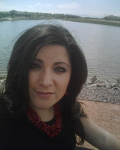Judi at the lake