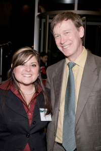 Judith With Mayor Hickenlooper